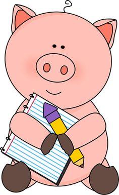 Free pig clip art from mycutegraphics.com