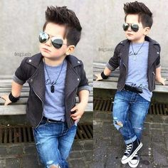 Baby boy hairstyles toddlers 69 ideas for 2019 - Baby Baby - Baby Hair Baby Boy Dress, Baby Boy Swag, Cute Baby Girl, Cute Boys, Cool Kids, Baby Baby, Cute Kids Fashion, Little Boy Fashion, Baby Boy Fashion