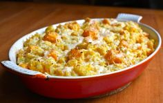 We LOVE this recipe! Butternut Squash Gratin