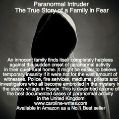 Paranormal Intruder - now available on Amazon and all online book stores.