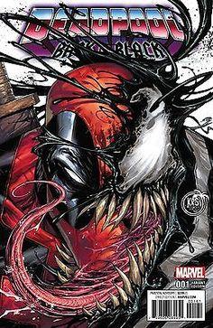 #Deadpool #Fan #Art. (DEADPOOL BACK IN BLACK #1-of-5 COLOR VARIANT Cover) By: TYLER KIRKMAN. (THE * 5 * STÅR * ÅWARD * OF: * AW YEAH, IT'S MAJOR ÅWESOMENESS!!!™)[THANK U 4 PINNING!!!<·><]<©>ÅÅÅ+(OB4E)