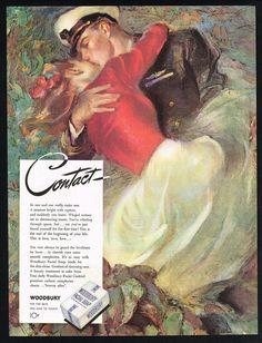 1945 Woodbury Soap Contact John Lagatta Art