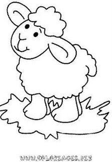risco+para+pintura+em+tecido+ovelha+4.jpg (223×320)