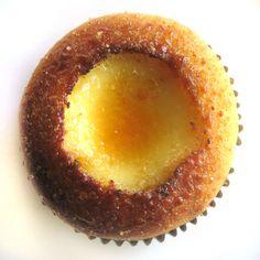 Creme brulee. In a cupcake.
