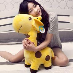 59.80$  Watch now - http://aliyph.worldwells.pw/go.php?t=1915135163 - 2004Cute giraffe plush toys, deer / sika deer plush dolls, send girls, Valentine's Day gifts, wedding / Children's Day gift 70cm