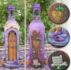 1 million+ Stunning Free Images to Use Anywhere Wine Bottle Vases, Recycled Glass Bottles, Diy Bottle, Wine Bottle Crafts, Bottles And Jars, Clay Art Projects, Clay Pot Crafts, Crafts With Glass Jars, Glass Craft
