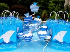A kids pool party with a dolphin theme brought smiles to kids and adults.  Dolphins just seem to be happy creatures and make for a perfect kids pool party theme. Indeed our inflatable dolphins and dolphin floats brought lots of splashes and smiles. #poolpartyideas
