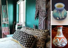 india bedroom ideas | to make a bedroom decor with turquoise Indian Maharaja style, Indian ...