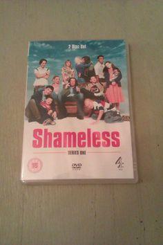 Shameless Series One DVD boxed set Anne-Marie Duff James McAvoy David Threlfall