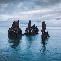 Reynisdrangar at Vik south Iceland from another angle...