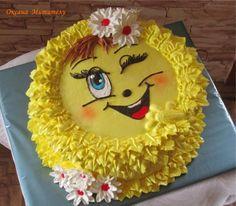 Cake Decorating Designs, Creative Cake Decorating, Cake Decorating Techniques, Cake Designs, Barbie Birthday Cake, 21st Birthday Cakes, Barbie Cake, Emoji Cake, Gateaux Cake