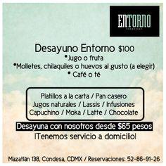 El mejor lugar para desayunar es Mazatlán 138, CDMX. ¡Los esperamos en #EntornoCondesa !