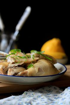 Chinese Steamed Chicken Recipe – China Sichuan Food