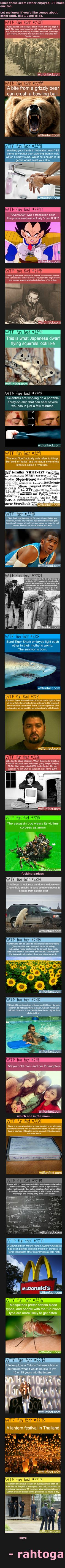 looong fun fact comp  - funny pictures #funnypictures