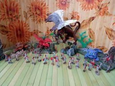 Battle against dragons, violence,hate.