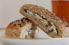 Tam Buğday Unundan Peynirli Poğaça- Cheese filling pastry from whole wheat flour