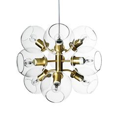 Pholc Tage Brass / Clear Ceiling