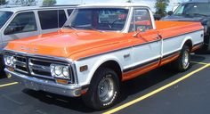 to own a sweet 1971 GMC truck...(year i was born)