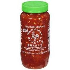 Huy Fong Chili Garlic Sauce (12x18Oz)