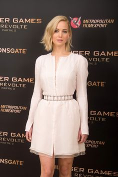 Jennifer Lawrence at The Hunger Games Mockingjay Part 2 Paris Photocall - November 9/ 2015