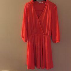 Dress 3/4 sleeve skater dress Lush Dresses