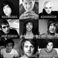 mine all time low pierce the veil gerard way Asking Alexandria frank iero vic fuentes mikey way my chemical romance austin carlile pete wentz fall out boy Alex Gaskarth of mice and men Danny Worsnop suicide silence mitch lucker
