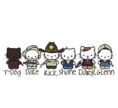 The Walking Dead Kitty Style