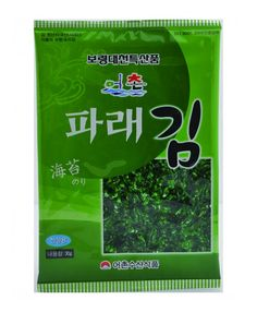 Korean-style roasted seaweed is seasoned with salt and sesame oil low in calories and no artificial colours or flavours fun and new texture and it can be eaten like any other snacks For many people, late-night snacking is habit, no need to be worried about calorie! As I said, most delicious low calorie snack! :) check out the link below !