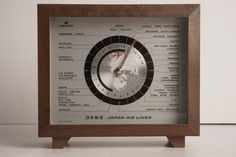 RARE/Vintage Japan Airlines Promotional Clock - Made in Japan