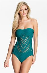 Robin Piccone Raquel Bandeau One Piece Swimsuit