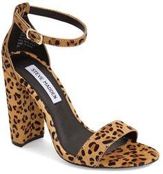 c201f46618fc Steve Madden  Carrson  Sandal (Women)  sandals  summer  heels Leopard