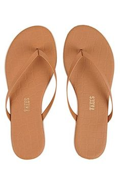 aa3514c9755f3 Tkees Womens Studio Flip Flop Sandals Hazelnut 9    Click image to review  more details
