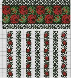 Folk Embroidery My childhood's pattern Folk Embroidery, Hand Embroidery Stitches, Embroidery Techniques, Cross Stitch Embroidery, Machine Embroidery Designs, Embroidery Patterns, Cross Stitch Borders, Cross Stitch Rose, Cross Stitch Designs