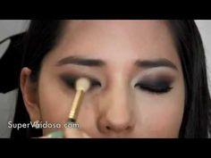 Maquiagem para olhos ORIENTAIS ou Pequenos por Camila Coelho.flv