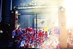 Liverpool fc #JFT96 2014 memorial