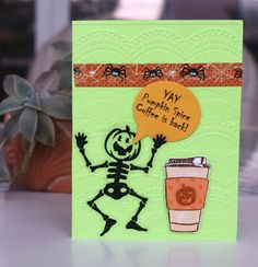 Handmade Cards By Helen: Coffee Lovers BlogHop - Fall '16