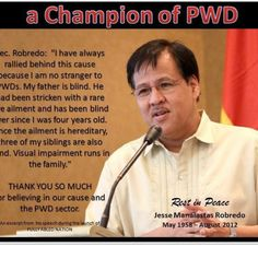 A good man, father, leader, the Late Jessie Robredo the Philippines Secretary of DILG, a great loss for the nation!