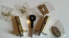 A pair of brand new polished brass finish rack bolts with key and all fittings. These are all in the manufacturers sealed bags. A top quality product at a bargain price. Enquiries for quantities are welcome.    Please check the pictures as they make up part of the description.    We post within 1 day of receiving your order.     Any questions, please feel free to e-mail us. | eBay!