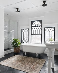 Modern Victorian bathroom, dream house bathroom design, Original article and pictures. White Subway Tile Bathroom, House Design, House, House Bathroom, White Subway Tiles, Victorian Bathroom, Elegant Bathroom, Bathrooms Remodel, Beautiful Bathrooms