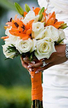 36 Best Tiger Lily Bouquet Images Wedding Bouquets Bridal