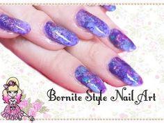 ▶ Bornite Stone (AKA Peacock Stone) Inspired Simple Nail Art - Violet LeBeaux - YouTube