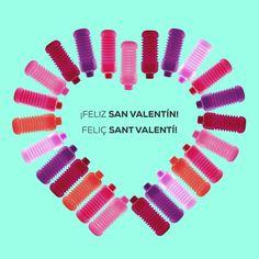 ¡Feliz #SanValentín! Feliç Sant Valentí! ❤️ www.squeasy.es