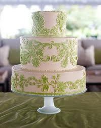 wedding cake white and green - Buscar con Google