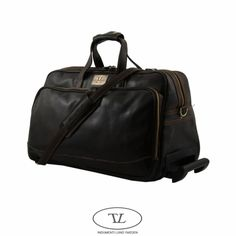 leather carry on bags for men | Men's Bags-Brown