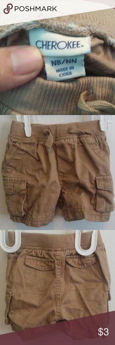 Khaki cargo shorts Cherokee (Target) Shirts & Tops