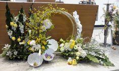 부활대축일 동대신성당 제대꽃꽂이입니다