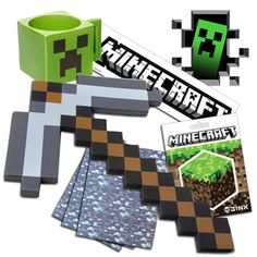 Minecraft Party Supplies from www.DiscountPartySupplies.com