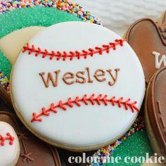 Baseball season has begun! #baseball #baseballseason #cookies #personalized #snacktime #decoratedcookies #sugarcookies #royalicing #royalicingcookies #cookiesofinstagram #colormecookie