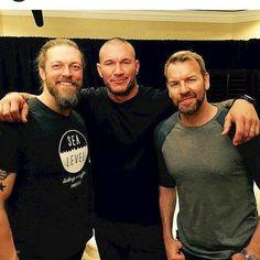 Edge, Randy Orton and Christian