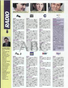 @RADIOESCUCHANTE Programación radiofónica en el año 2001.